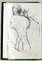 [Sketchbook of Ramón Carulla 1980 sketch 12]