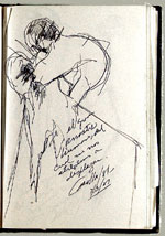 [Sketchbook of Ramón Carulla 1980 sketch 20]