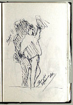 [Sketchbook of Ramón Carulla 1980 sketch 29]