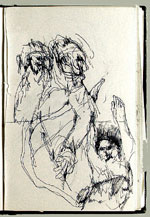 [Sketchbook of Ramón Carulla 1980 sketch 30]