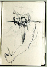 [Sketchbook of Ramón Carulla 1980 sketch 35]