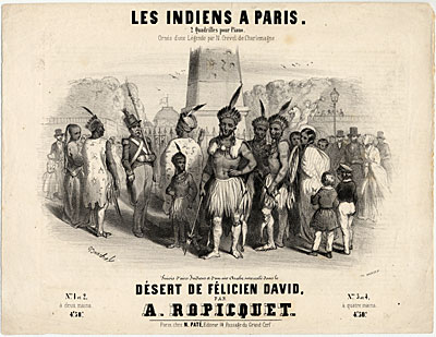 'Les Indiens a Paris'