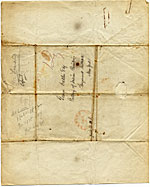 [William H. Seward, Albany, N.Y. to George Catlin verso ]