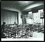 Detroit Society of Arts and Crafts building at 37 Witherell, Street, Detroit. Interior view of Little Theater