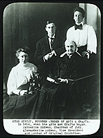 A group of founder members of the Detroit Society of Arts and Crafts