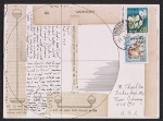 Lenore Tawney mail art to Maryette Charlton