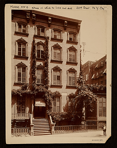 [Samuel Finley Breese Morse's home, 22nd Street, N.Y. City]