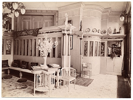 [Interior of house of Lawrence Alma-Tedema]