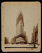 Flatiron Building under construction