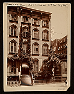 Samuel Finley Breese Morses home, 22nd Street, N.Y. City