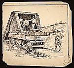 Cannon transport on rails