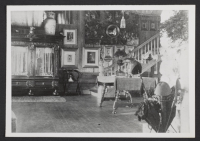Interior view of William Merritt Chases House