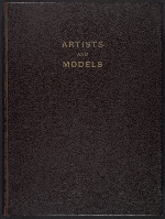 G. Alan Chidsey scrapbook of cartoons about art and artists' models