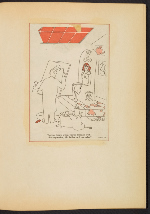 [G. Alan Chidsey scrapbook of cartoons about art and artists' models page 22]