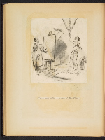 [G. Alan Chidsey scrapbook of cartoons about art and artists' models page 39]