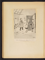 [G. Alan Chidsey scrapbook of cartoons about art and artists' models page 43]