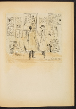 [G. Alan Chidsey scrapbook of cartoons about art and artists' models page 44]