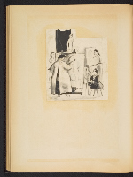[G. Alan Chidsey scrapbook of cartoons about art and artists' models page 49]