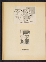 [G. Alan Chidsey scrapbook of cartoons about art and artists' models page 55]