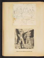 [G. Alan Chidsey scrapbook of cartoons about art and artists' models page 57]