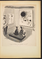 [G. Alan Chidsey scrapbook of cartoons about art and artists' models page 66]