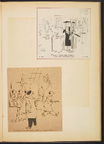 [G. Alan Chidsey scrapbook of cartoons about art and artists' models page 68]