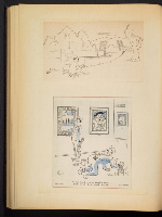 [G. Alan Chidsey scrapbook of cartoons about art and artists' models page 69]