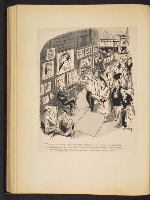 [G. Alan Chidsey scrapbook of cartoons about art and artists' models page 75]