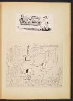 [G. Alan Chidsey scrapbook of cartoons about art and artists' models page 76]