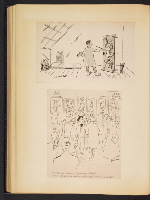 [G. Alan Chidsey scrapbook of cartoons about art and artists' models page 77]