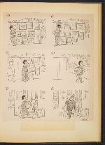 [G. Alan Chidsey scrapbook of cartoons about art and artists' models page 78]