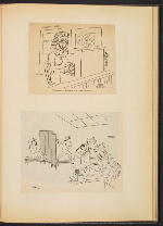 [G. Alan Chidsey scrapbook of cartoons about art and artists' models page 80]