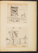 [G. Alan Chidsey scrapbook of cartoons about art and artists' models page 82]