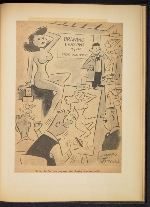 [G. Alan Chidsey scrapbook of cartoons about art and artists' models page 84]