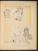 [G. Alan Chidsey scrapbook of cartoons about art and artists' models page 86]