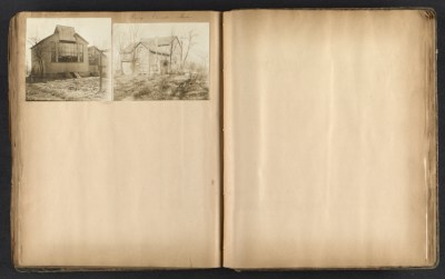 [Thomas B. Clarke scrapbook of materials relating to George Inness]