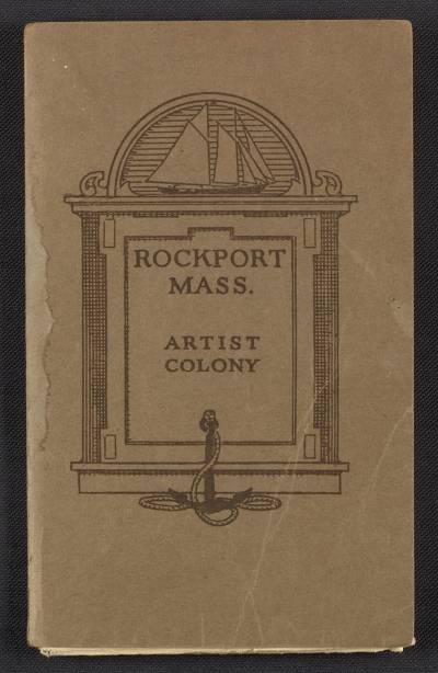 [Map of the Rockport, Massachusetts artist colony]