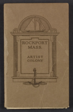 Map of the Rockport, Massachusetts artist colony
