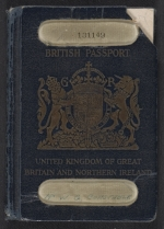 William George Constable's passport