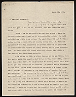 Edward Warren letter to Frank Gair Macomber, Boston, Mass.