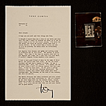 Tony Curtis letter to Joseph Cornell