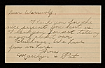 [Marilyn and Pat letter to Joseph Cornell ]