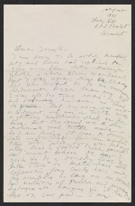 [Pavel Tchelitchew letter to Joseph Cornell ]