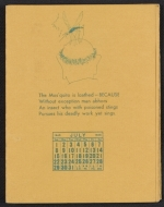 [Calendar with verses by William Adams Delano and illustrations by Tina Safranski 4]