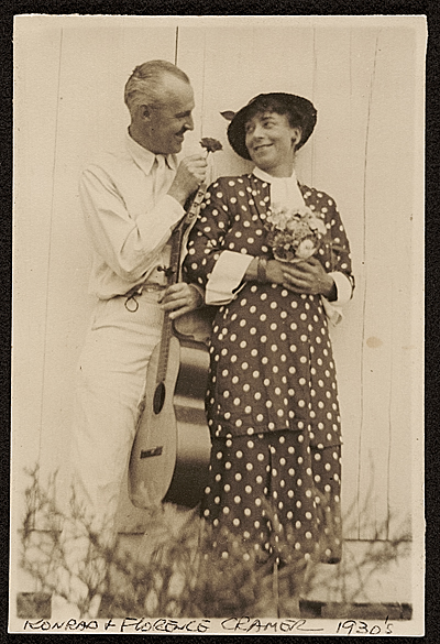 Konrad and Florence Cramer