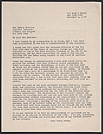 Phyllis Crawford letter to Audrey McMahon