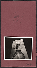 [Linda Connor Christmas card to Imogen Cunningham 1]