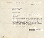 Anni Albers to Gloria Finn
