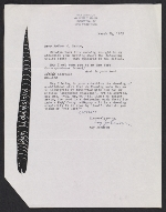 Ray Johnson letter to Arthur Coleman Danto