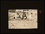 Konrad Cramer, John Reed and Andrew Dasburg, on a beach, in Provincetown